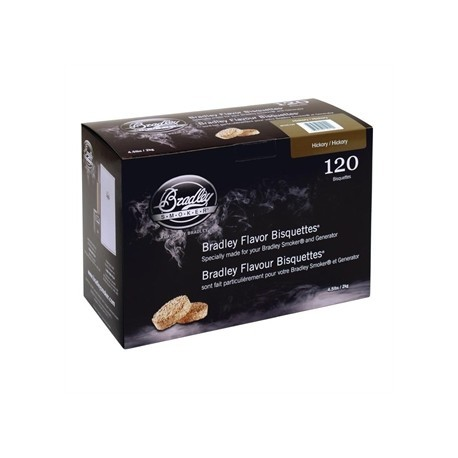 Bradley Hickory Bisquettes 120 pack