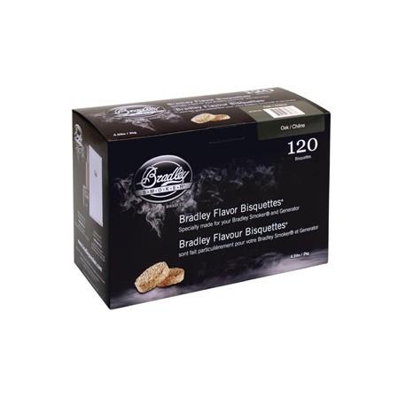 Bradley Oak Bisquettes 120 pack