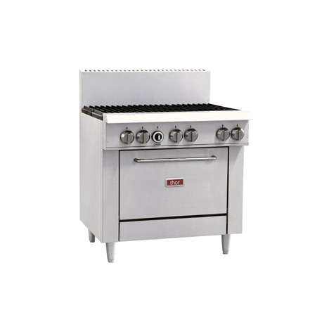 Thor 6 Burner Natural Gas Oven Range