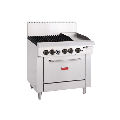 Thor 4 Burner LPG Oven Range and 305mm Grill