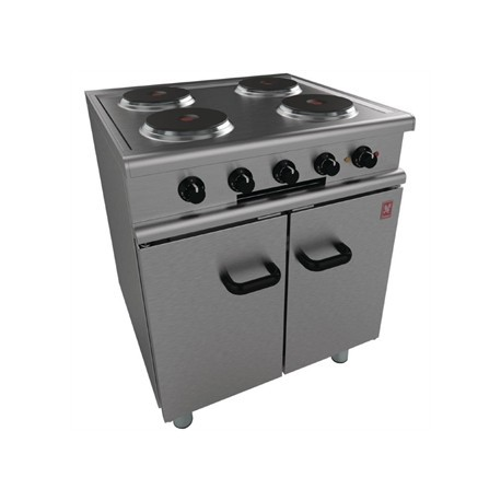 Falcon 350 Series 4 Hotplate Electric Oven Range on Legs E350/30