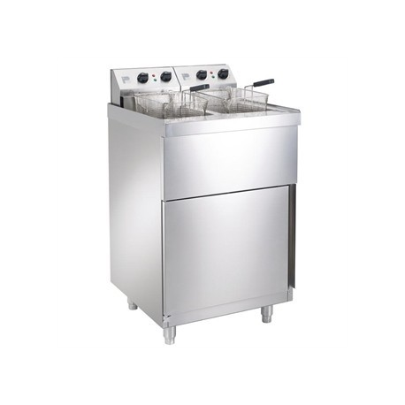 Parry Double Electric Pedestal Fryer NPDPF6