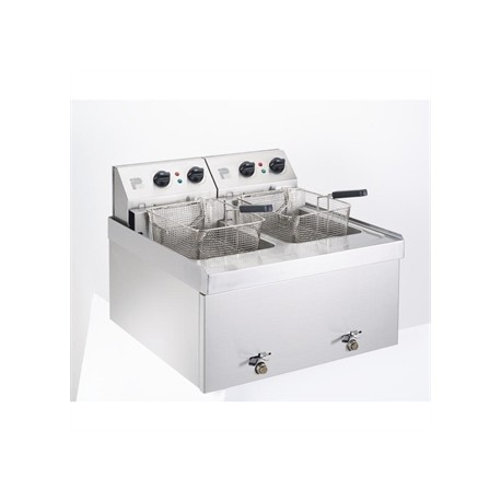 Parry Double Tank Countertop Fryer NPDF3