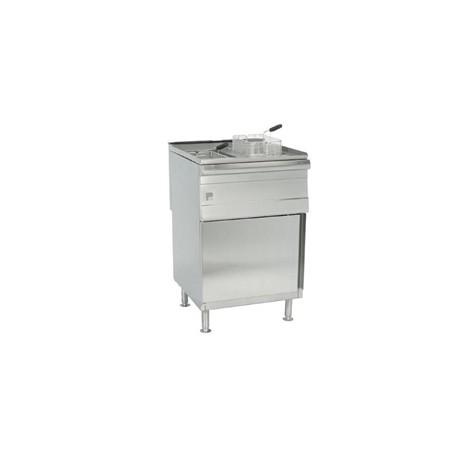 Parry Double Natural Gas Pedestal Fryer PDGF