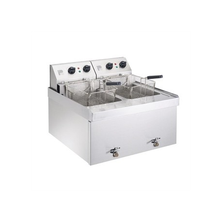 Parry Double Tank Countertop Fryer NPDF9