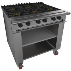 Falcon Chieftain 6 Burner Boiling Table on Castors LPG G1060X