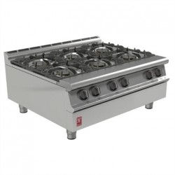 Falcon Dominator Plus Six Burner Boiling Top Natural Gas G3121