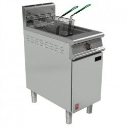 Falcon Dominator Plus Twin Basket Fryer With Filtration Natural Gas G3840F