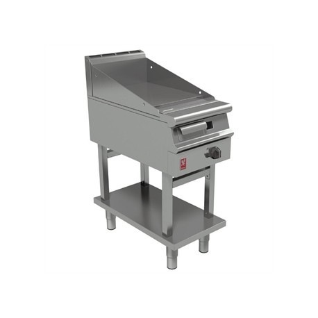 Falcon Dominator Plus 400mm Wide Smooth Griddle on Fixed Stand Natural Gas G3441