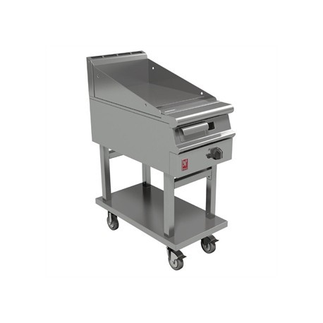 Falcon Dominator Plus 400mm Wide Smooth Griddle on Mobile Stand Natural Gas G3441