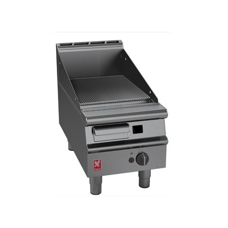 Falcon Dominator Plus 400mm Wide Ribbed Griddle Natural Gas G3441R