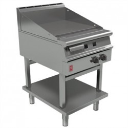 Falcon Dominator Plus 600mm Wide Smooth Griddle on Fixed Stand Natural Gas G3641