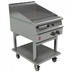 Falcon Dominator Plus 600mm Wide Smooth Griddle on Mobile Stand Natural Gas G3641
