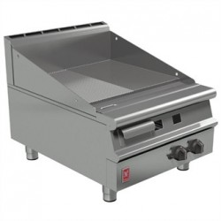 Falcon Dominator Plus 600mm Wide Half Ribbed Griddle LPG G3641R