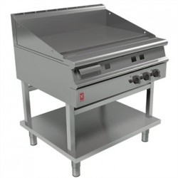Falcon Dominator Plus 900mm Wide Smooth Griddle on Fixed Stand Natural Gas G3941