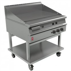 Falcon Dominator Plus 900mm Wide Smooth Griddle on Mobile Stand Natural Gas G3941
