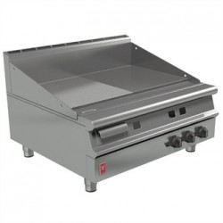 Falcon Dominator Plus 900mm Wide Half Ribbed Griddle Natural Gas G3941R