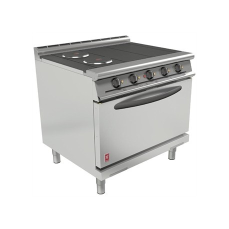 Falcon Dominator Plus 4 Hotplate Oven Range with Drop Down Door E3101D
