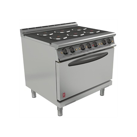 Falcon Dominator Plus 6 Hotplate Oven Range with Drop Down Door E3101D