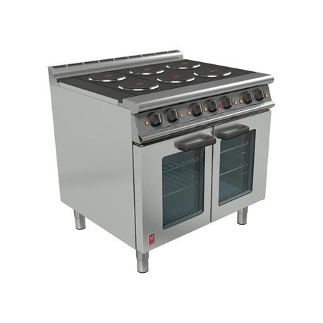 Falcon Dominator Plus 6 Hotplate Oven Range with FanAssisted Oven E3101 OTC
