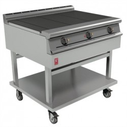 Falcon Dominator Plus 3 Hotplate Boiling Table with Castors E3121