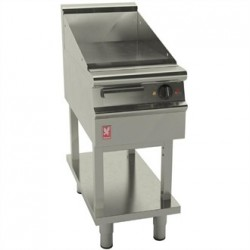 Falcon Dominator Plus 400mm Wide Smooth Griddle on Fixed Stand E3441