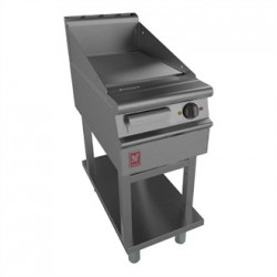 Dominator Plus 400mm Wide Ribbed Griddle on Fixed Stand E3441R