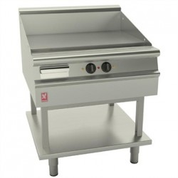 Falcon Dominator Plus 800mm Wide Smooth Griddle on Fixed Stand E3481
