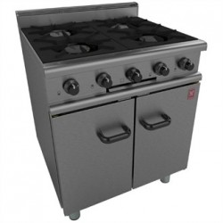 Falcon 350 Series 4 Burner Gas Oven Range on Legs Natural Gas G350/1