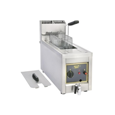 Roller Grill Single Tank Countertop Fryer RF8