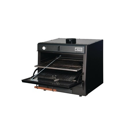 Pira 50 Lux Charcoal Oven Black