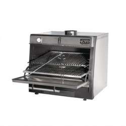 Pira 50 Lux Charcoal Oven Stainless Steel