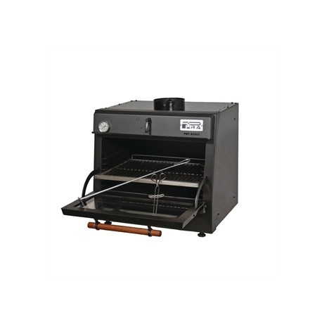 Pira 45 Lux Charcoal Oven Black