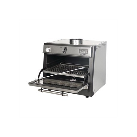 Pira 45 Lux Charcoal Oven Stainless Steel