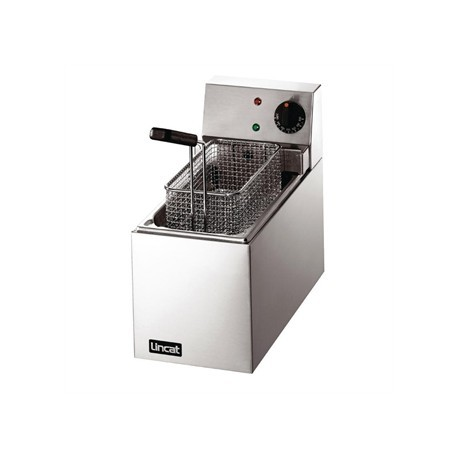 Lincat Lynx Slimline Single Tank Countertop Fryer LSF