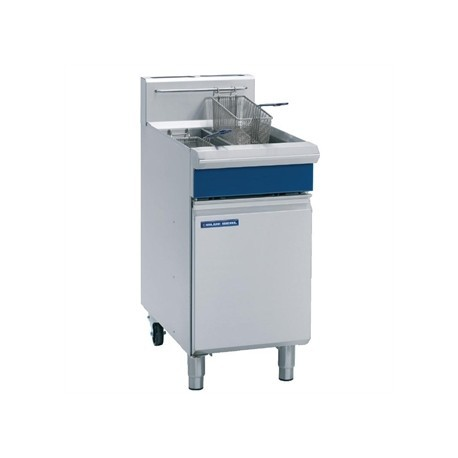 Blue Seal Free Standing Natural Gas Twin Fryer GT46