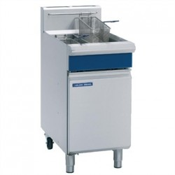 Blue Seal Free Standing Propane Gas Twin Fryer GT46