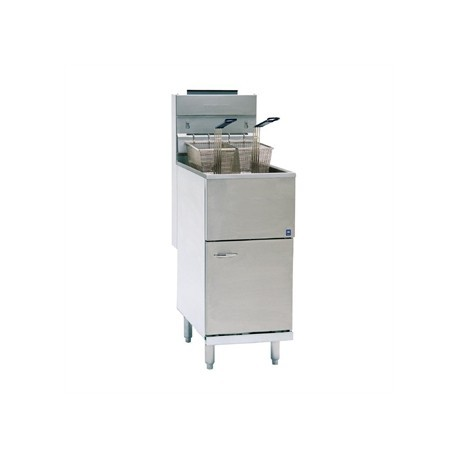 Pitco Free Standing Single Tank Natural Gas Fryer CE-35CS-NAT