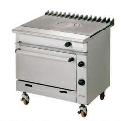 Falcon Chieftain Single Bullseye Natural Gas Oven Range G1006BX-N
