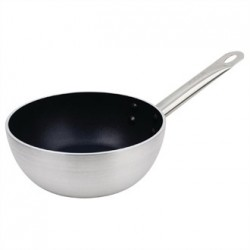 Vogue Non Stick Induction Flared Saute Pan 200mm