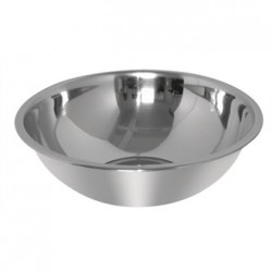 Vogue Stainless Steel Mixing Bowl 4.8Ltr