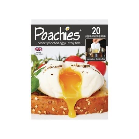 Poachies 20 Disposable Egg Poachers
