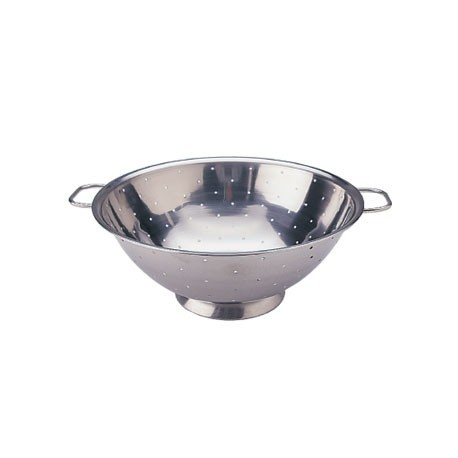 Vogue Stainless Steel Colander 10in