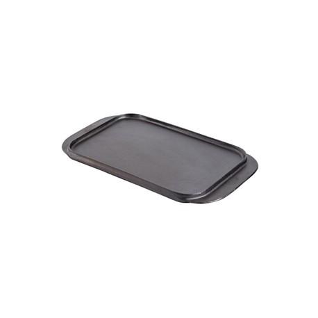 Vogue Reversible Cast Iron Double Griddle Pan