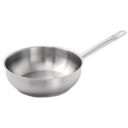 Vogue Stainless Steel Saute Pan 240mm