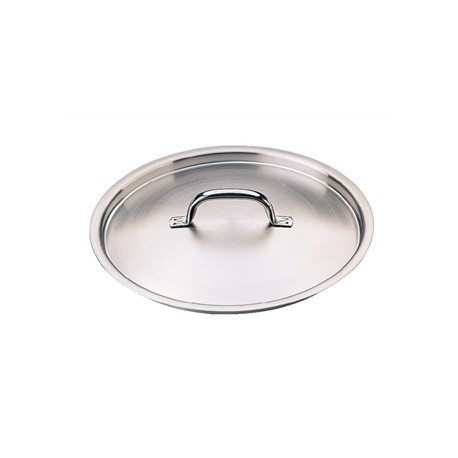 Vogue Stainless Steel Saucepan Lid 140mm