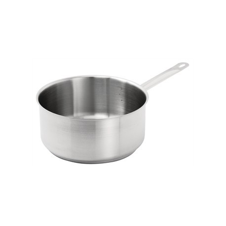 Vogue Stainless Steel Saucepan 5Ltr
