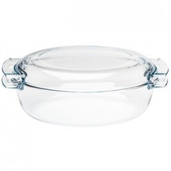 Pyrex Oval Glass Casserole Dish 4.5Ltr