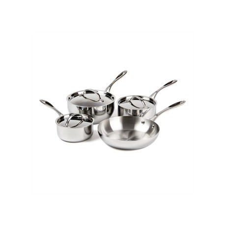 Vogue Tri Wall Pan Set of 3 Pans