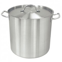 Vogue Deep Stockpot 35.5Ltr